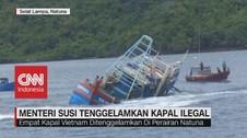VIDEO: Menteri Susi Tenggelamkan Kapal Ilegal