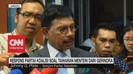 VIDEO: Partai Koalisi Soal Tawaran Menteri dari Gerindra