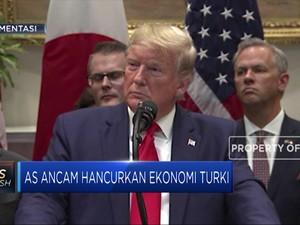 Sangarrr....Amerika Ancam 'Ubrak-abrik' Turki