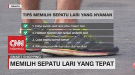 VIDEO: Memilih Sepatu Lari yang Tepat