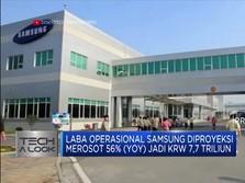 Q3-2019, Laba Samsung Diprediksi Merosot 56%