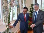 Jokowi Ketemu PM Lee, Hak Wilayah Udara Kepri Kembali ke RI