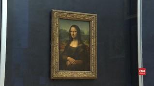VIDEO: Mona Lisa Kembali Dipamerkan di Museum Louvre