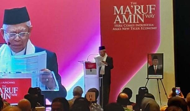 Buku The Maruf Amin Way Diluncurkan