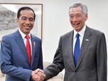 Deal! Jokowi-Lee Hsien Loong Perpanjang Kerja Sama Keuangan