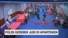 VIDEO: Polda Metro Grebek Judi Kasino di Apartemen
