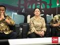 Kelilingi Gedung DPR, Puan Singgung Porsi Nasi Aparat