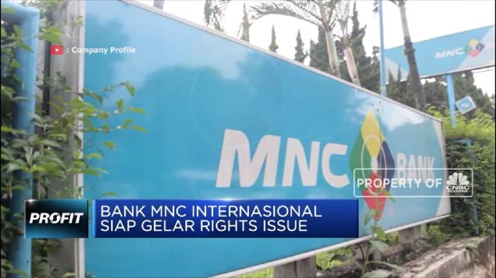 Bank MNC Internasional Siap Gelar Rights Issue (CNBC Indonesia TV)