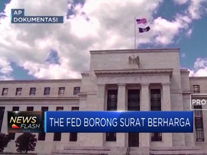The Fed Rajin Beli Surat Berharga, Ada Apa Ya?