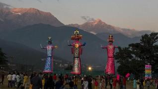 FOTO: Mengalahkan Kejahatan di Festival Dussehra