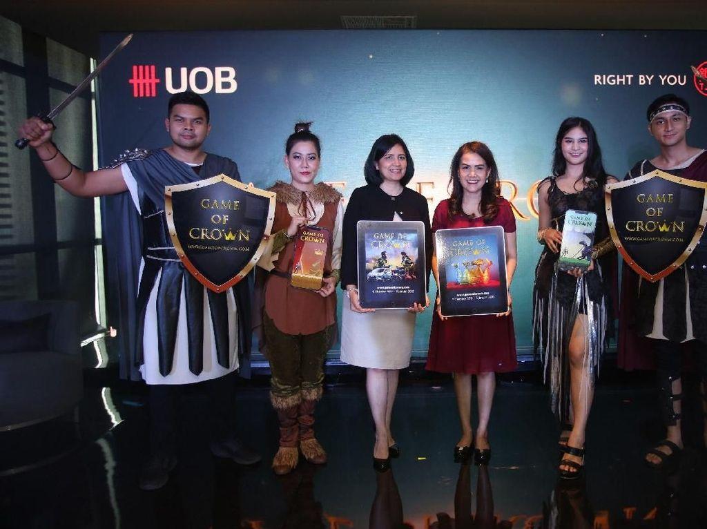 PT Bank UOB Indonesia (UOB Indonesia) meluncurkan program game online yang terhubung dengan transaksi kartu kredit. Ini menjadi game online pertama yang dikembangkan oleh perbankan di Indonesia.