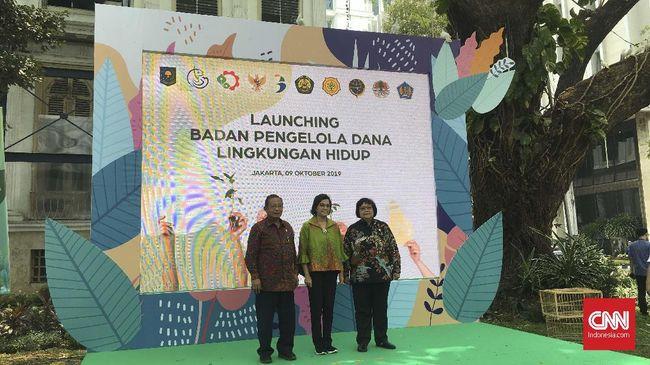 Tak Hanya Sawit, Jokowi Punya Badan Pengelola Dana Lingkungan