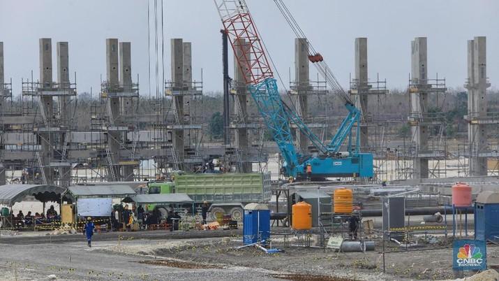 Pembangunan infrastruktur bertujuan untuk memangkas biaya ekonomi dan menciptakan efisiensi.