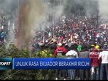 Ricuh! Aksi Massa di Ekuador Protes Penghematan Anggaran