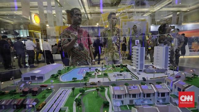 MKI mengajak korporasi, institusi, dan masyarakat umum untuk berpartisipasi menuntaskan program 100 persen elektrifikasi melalui penggalangan dana sambungan listrik rumah untuk kawasan 3T (Terjauh, Terdepan, Tertinggal) dengan besaran biaya Rp747.000 per rumah. (CNN Indonesia/Adhi Wicaksono).