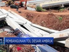 Waduh, Pembangunan Tol Depok-Antasari Ambruk!