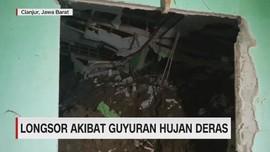 VIDEO: Longsor Akibat Guyuran Hujan Deras