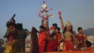Komentari Situs Suci India di Medsos, Puluhan Orang Dibekuk