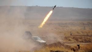 Suriah Tembak Rudal Israel yang Mengarah ke Damaskus