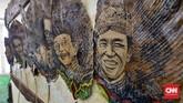 Pengunjung dapat bersenang-senang sambil belajar mengenal kebudayaan bangsa. (CNN Indonesia/Daniela Dinda)