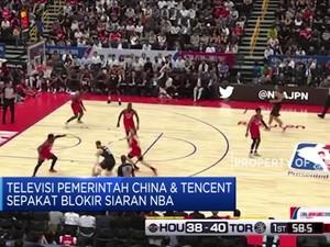 TV Pemerintah China CCTV Tak akan Tayangkan Siaran NBA
