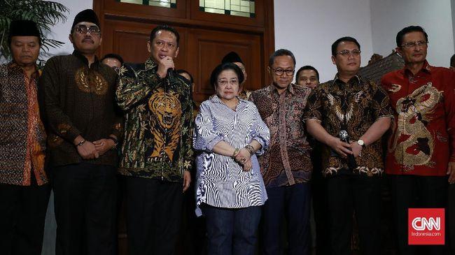 Pimpinan MPR Minta Masukan Megawati soal Amandemen UUD 45