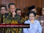 Sampaikan Undangan, Bambang Soesatyo Temui Megawati