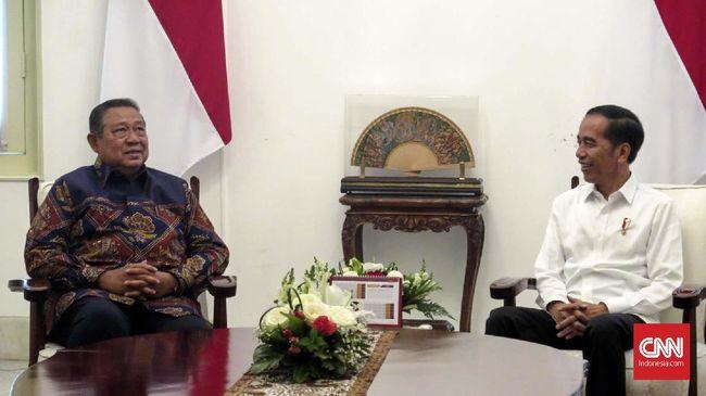 Jokowi dan SBY Bahas Kans Demokrat Gabung Kabinet
