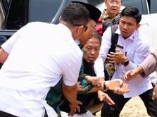 Detik-Detik Menkopolhukam Wiranto Kena Tusuk di Banten