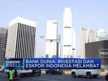 Lagi, Bank Dunia Prediksi Pertumbuhan Ekonomi Indonesia Turun