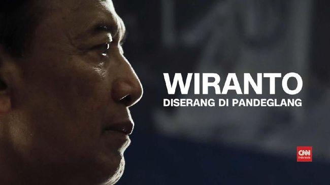 VIDEO: Kronologi Wiranto Diserang di Pandeglang