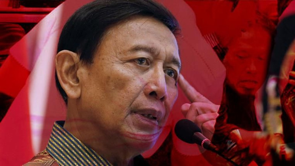 Menkopolhukam Wiranto Ditusuk di Banten