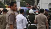 Presiden Jokowi menyebut kondisi Wiranto stabil meski sempat dioperasi oleh dokter RSPAD Gatot Soebroto. (AP Photo/Rafsanjani)
