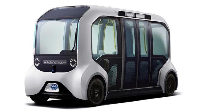 Mobil Otonom Buat Angkut Atlet Olimpiade Tokyo