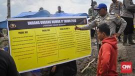 Polisi Jaga Lokasi Perburuan Harta Karun Sriwijaya