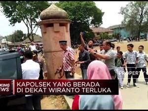 Ini Detik-Detik Penyerangan Pada Wiranto di Pandeglang
