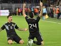 FOTO: Duel Jerman vs Argentina Berakhir Tanpa Pemenang