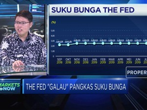 Trump Intervensi, The Fed Galau Pangkas Suku Bunga