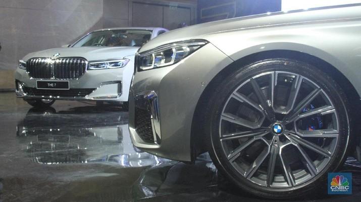 The New BMW 740Li Opulence (CNBC Indonesia/Tri Susilo)
