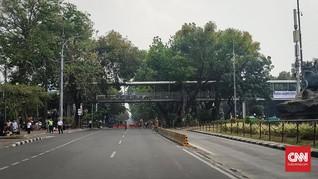 Demo Mahasiswa, Jalan di Sekitar Istana Ditutup