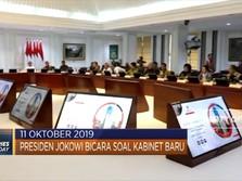 Jokowi Bahas Kabinet Jilid II hingga Jembatan di China Ambruk
