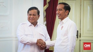 Prabowo Siap Bantu Jokowi Kerek Laju Ekonomi Hingga Dua Digit