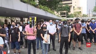 VIDEO: Warga Hong Kong Protes Dugaan Kekerasan Polisi