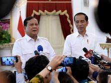 Prabowo Temui Jokowi, PAN Tegaskan Tetap di Luar Pemerintahan