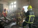 Begini Suasana Saat Kebakaran Melanda KBRI di Thailand