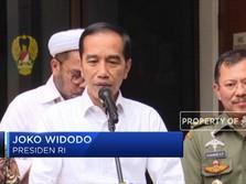Ini Penjelasan Jokowi Soal Kondisi Wiranto yang Ditusuk