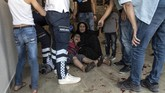 Serangan ini pun memicu kecaman internasional sehingga mendesak dilakukan pertemuan darurat Dewan Keamanan PBB (Ismail Coskun/HA via AP )
