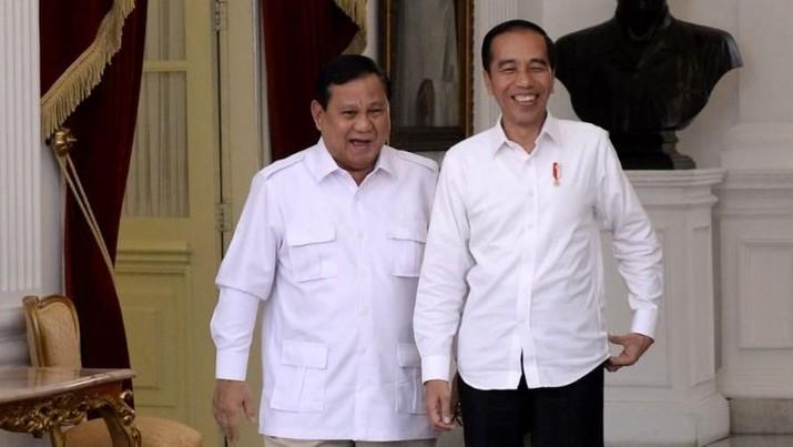Pernyataan Lengkap Jokowi & Prabowo Usai Hampir 1 Jam Bertemu