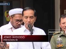 Jokowi Pastikan Kondisi Wiranto Baik & Stabil
