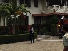 Kedutaan RI di Bangkok Kebakaran